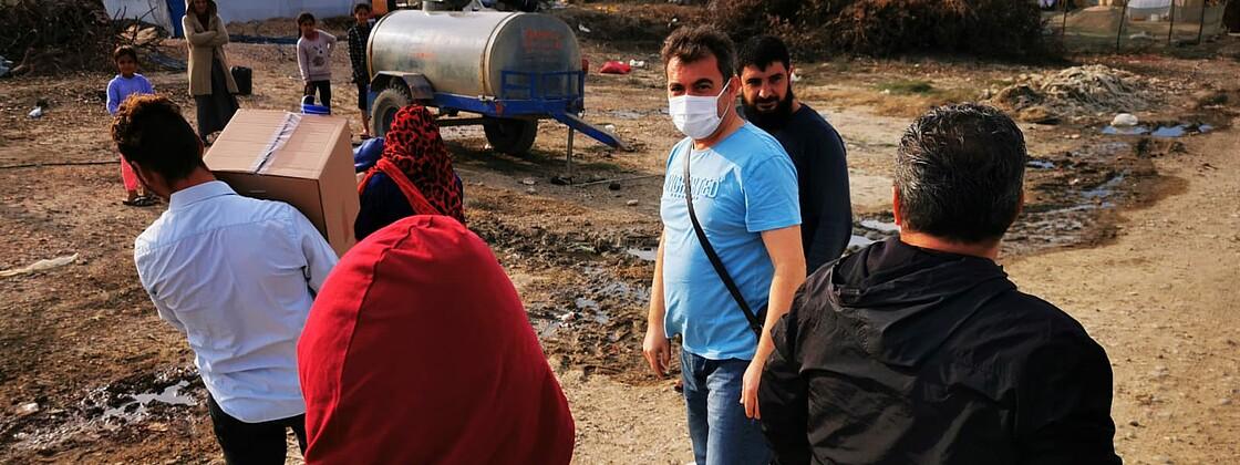 Hilfe fur Syrien