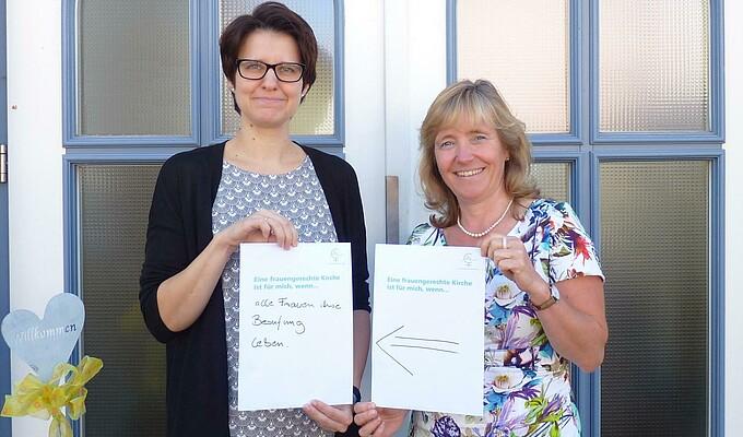 Dagmar Lohan und Annette Grabosch