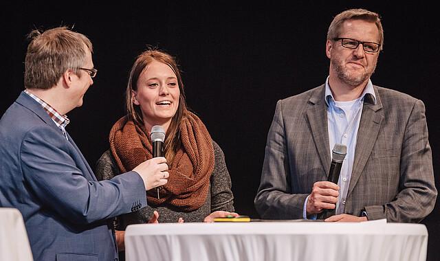 Dr. Michael Rohde, Sara Holmer, Volker Bohle