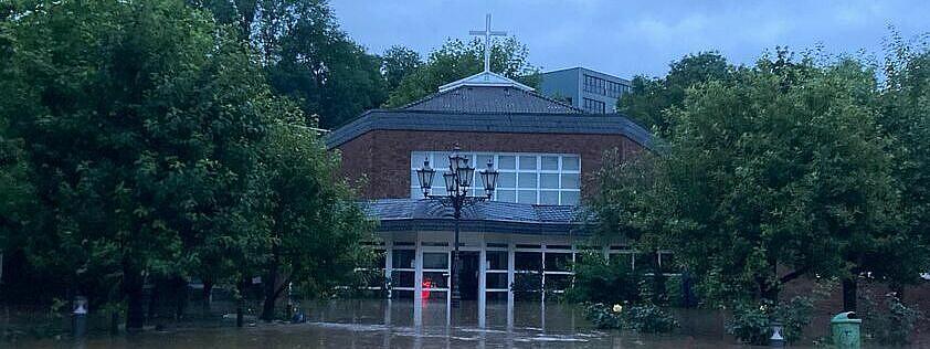Kirche am Widey Flutkatastrophe