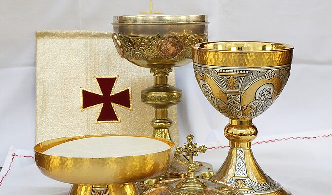 Eucharistie, Kelch | Katholische Kirche