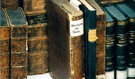 Geschichte der Taufe | Historischer Beirat | Oncken-Archiv