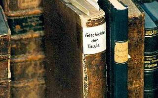 Geschichte der Taufe   Historischer Beirat   Oncken-Archiv