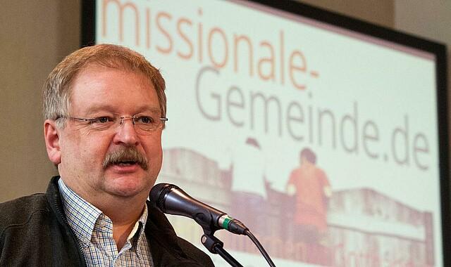 Joachim Gnep, Leiter Dienstbereich Mission im BEFG