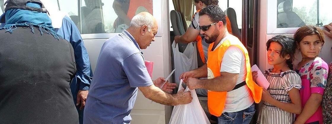Humanitäre Hilfe