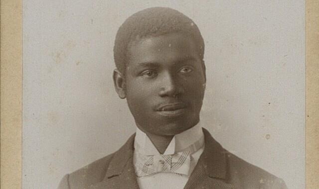 Porträt von Rudolf Duala Manga Bell um 1902