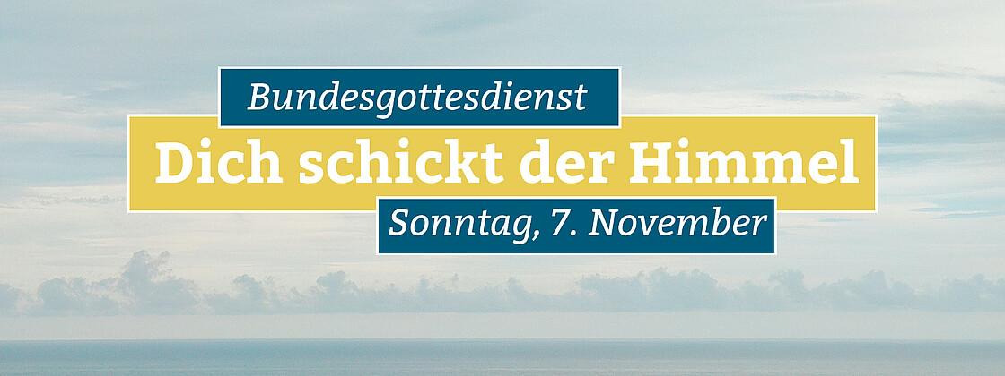 Bundesgottesdienst November 8 3