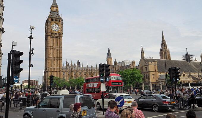 London - Studytour England 2016
