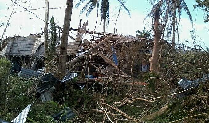 Taifun Haiyan Philippinen