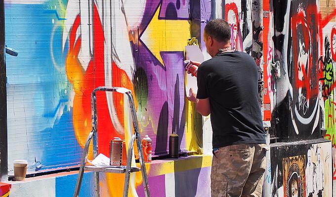 Graffiti - Studytour England 2016