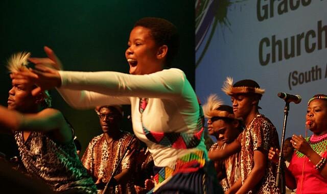 Grace Baptist Church Choir (© ethicsdaily.com)