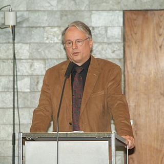 Wahlleiter Manfred Frank