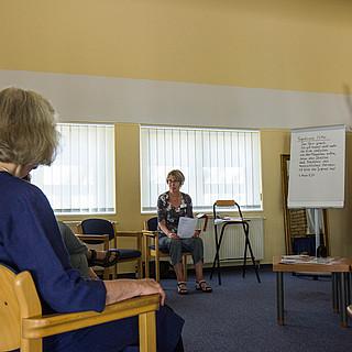 Workshop Leichte Sprache mit Andrea Schneider